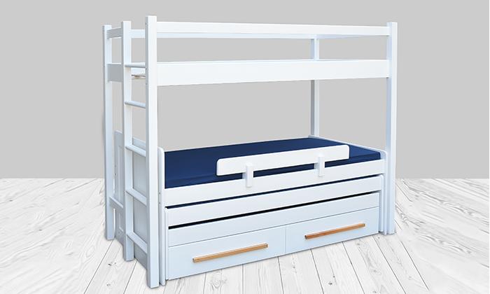 5 מיטת ילדים ונוער לבחירה בעלת מעקה בטיחות