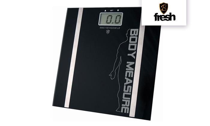 2 משקל דיגיטלי עם מד שומן