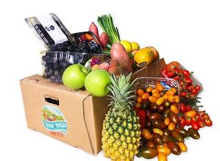מבחר מארזי פירות וירקות במשלוח