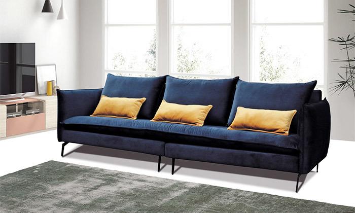 2 ספה תלת מושבית גדולה של Or Design, דגם סוהו