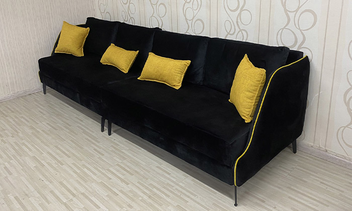 4 ספה תלת מושבית גדולה של Or Design, דגם איילנד