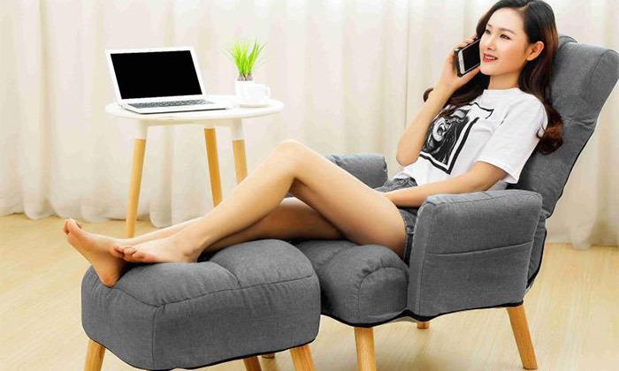 2 כורסת טלוויזיה מתכווננת עם הדום של MY CASA דגם LAZI COMFORT, משלוח חינם