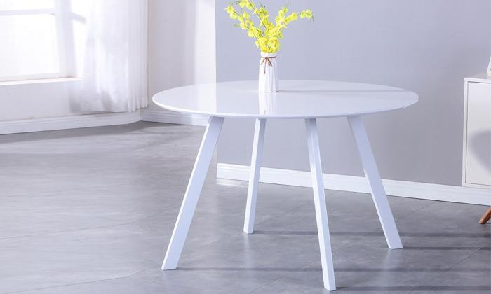 2 שולחן אוכל עגול דגם 5021