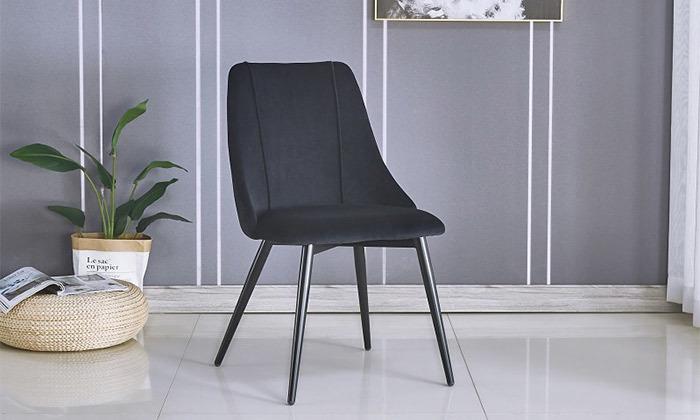 2 כיסא אוכל מרופד דגם 8108