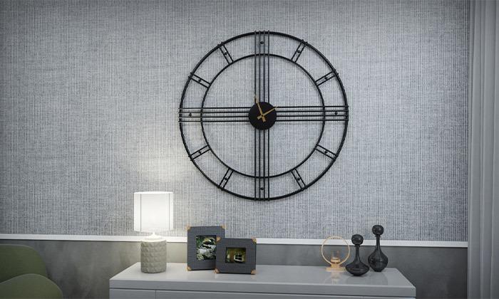7 שעון קיר עגול גדול של RAZCO