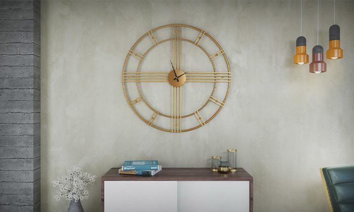 6 שעון קיר עגול גדול של RAZCO