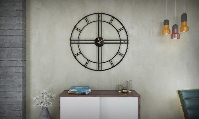 3 שעון קיר עגול גדול של RAZCO