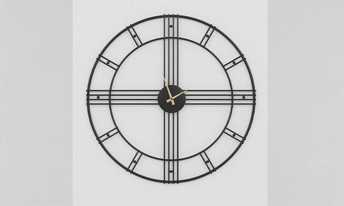 4 שעון קיר עגול גדול של RAZCO