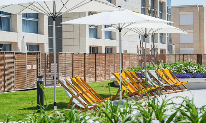 6 יום כיף עם עיסוי במלון הרודס מרשת Share spa, הרצליה פיתוח