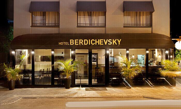 4 עיסויים במלון הבוטיק B ברדיצ'בסקי, תל אביב