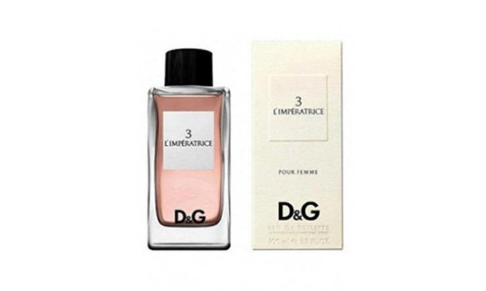 3 בושם לאישה ולגברDolce & Gabbana לבחירה