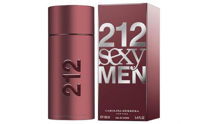2 בושם לגברים Carolina Herrera 212 Sexy