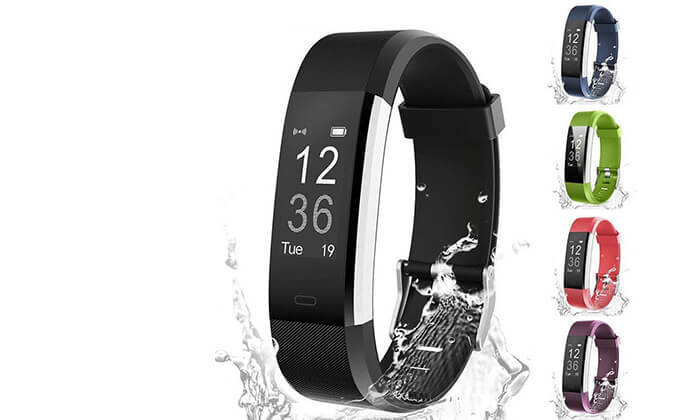 2 שעון חכם עם מד דופק למערכות הפעלהאנדרואיד & iOS