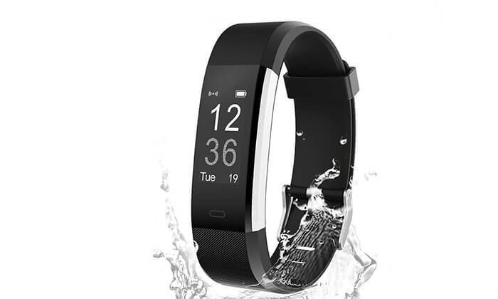 3 שעון חכם עם מד דופק למערכות הפעלהאנדרואיד & iOS
