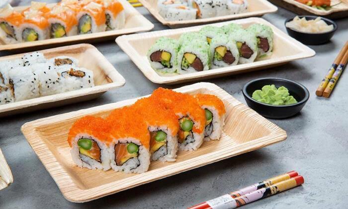 7 מגש סושי מסיבה ממסעדת NUCHI, כיכר המדינה