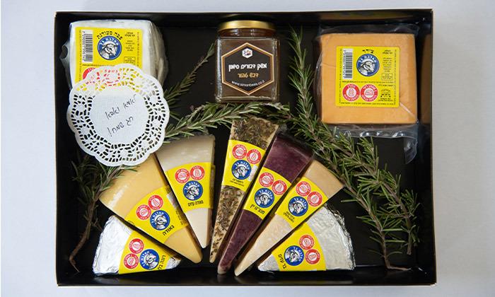 6 מארז גבינות בוטיק כשרות למהדרין ממחלבת גל, כפר טרומן