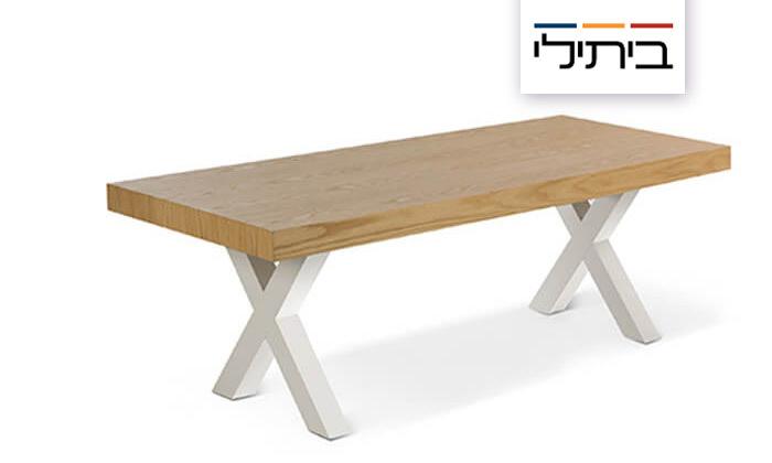 2 שולחן קפה לסלון של ביתילי דגם סאקס, משלוח חינם