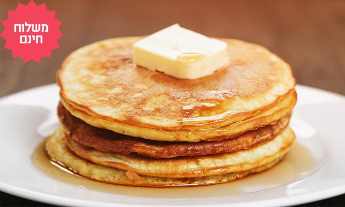 4 מארז 2 חבילות תערובת להכנת פנקייק,וופל בלגי, ספינג' או דונאטס ו-2 צנצנות ממרחים, משלוח חינם