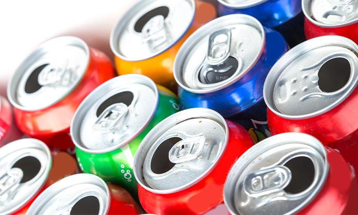 2 מארז 48 פחיות שתייה ממשפחת קוקה-קולה, משלוח חינם