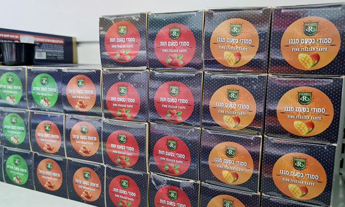 4 24 קפסולות להכנת משקאות אייס - משלוח חינם