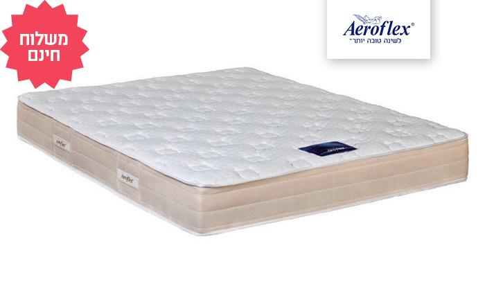 2 מזרן זוגי אורתופדי שלAeroflex דגםPro Comfort Air, משלוח חינם