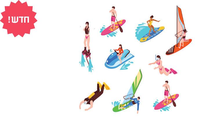 6 מדבקות עמידות במים לעיצוב חדר האמבטיה