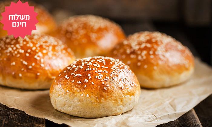 2 מארזים מפנקים של לחמים ומאפים מעולם הלחם במשלוח חינם ליישובי המרכז והשרון