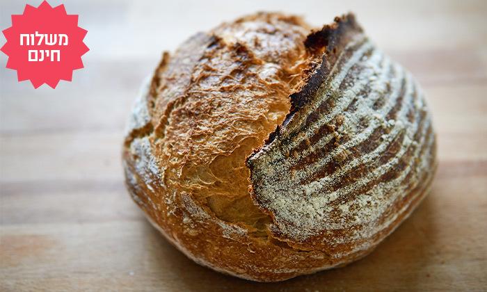8 מארז לחמים ומאפים לשבת מעולם הלחם במשלוח חינם ליישובי המרכז והשרון