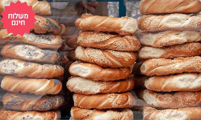 11 מארז לחמים ומאפים לשבת מעולם הלחם במשלוח חינם ליישובי המרכז והשרון