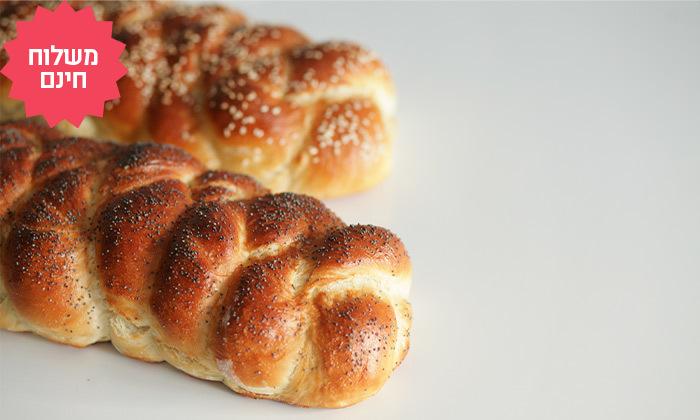 6 מארז לחמים ומאפים לשבת מעולם הלחם במשלוח חינם ליישובי המרכז והשרון