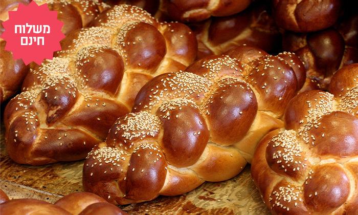 2 מארז לחמים ומאפים לשבת מעולם הלחם במשלוח חינם ליישובי המרכז והשרון
