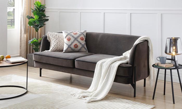 2 ספה תלת מושבית דגם 0002