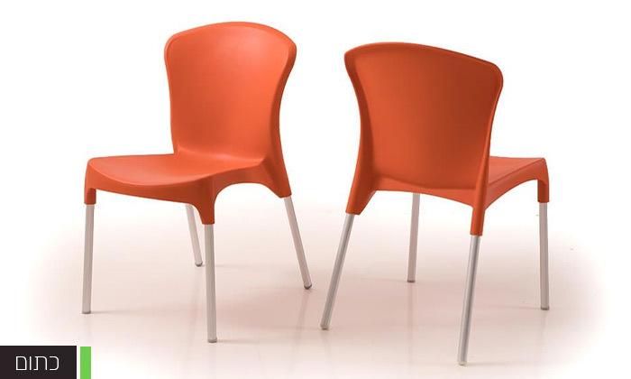 4 סט 4 כיסאות אוכל דגם סטלה של שמרת הזורע, משלוח חינם