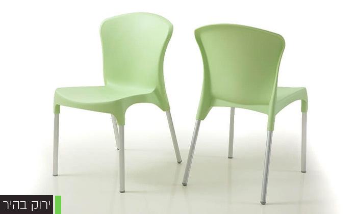 5 סט 4 כיסאות אוכל דגם סטלה של שמרת הזורע, משלוח חינם