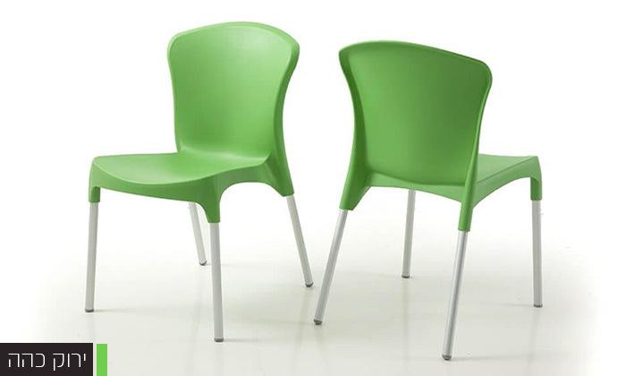6 סט 4 כיסאות אוכל דגם סטלה של שמרת הזורע, משלוח חינם