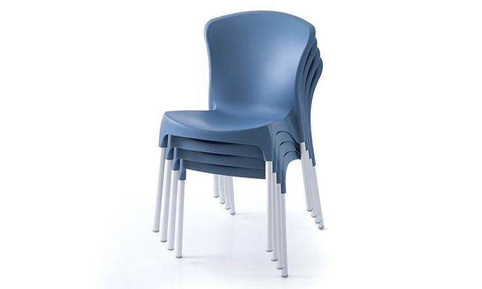 7 סט 4 כיסאות אוכל דגם סטלה של שמרת הזורע, משלוח חינם