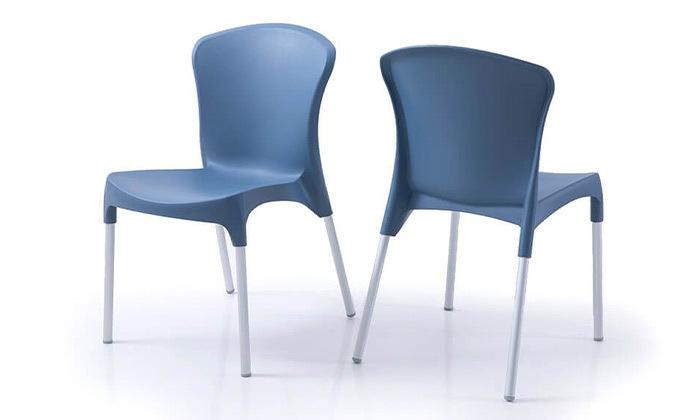 8 סט 4 כיסאות אוכל דגם סטלה של שמרת הזורע, משלוח חינם