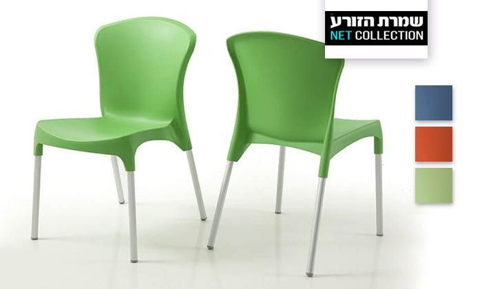 2 סט 4 כיסאות אוכל דגם סטלה של שמרת הזורע, משלוח חינם