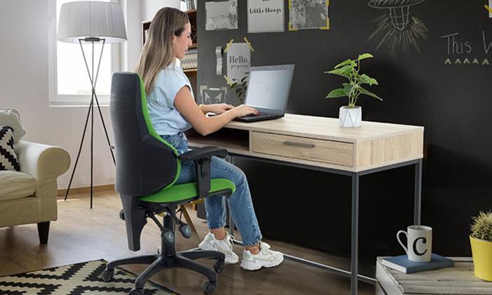 5 שולחן כתיבה שם מגירה של שמרת הזורע, דגם עידן