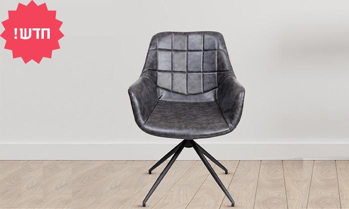 2 כיסא מרופד SUN DESIGN HOME דגם 1944