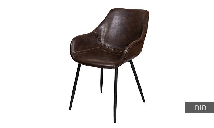 4 כיסא מרופד SUN DESIGN HOME דגם 1943