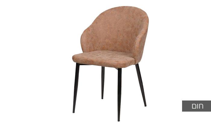 3 כיסא מרופד SUN DESIGN HOME דגם 1712