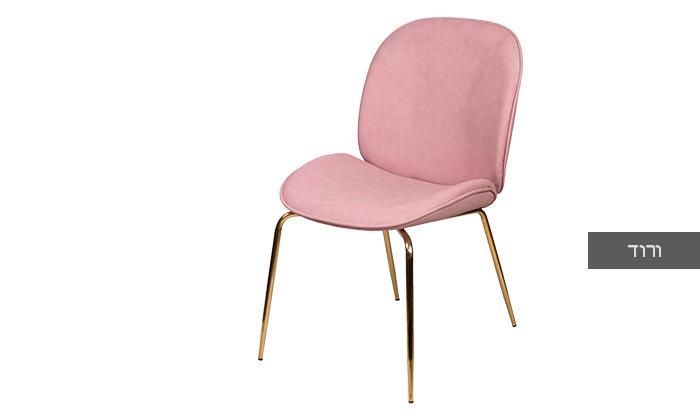 4 כיסא מרופד SUN DESIGN HOME דגם 1915