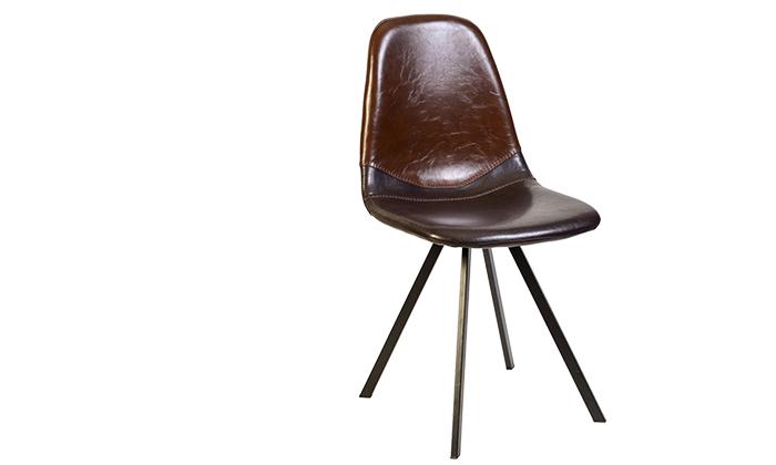 2 כיסא מרופד SUN DESIGN HOME דגם 1652
