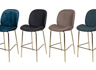 כיסא בר מרופד דגם 1915B