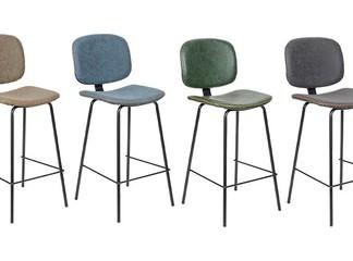כיסא בר מרופד דגם 5397B