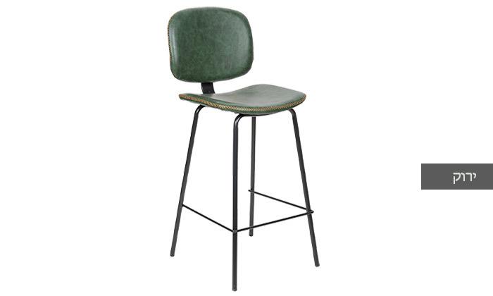 4 כיסא בר מרופד SUN DESIGN HOME דגם 5397B