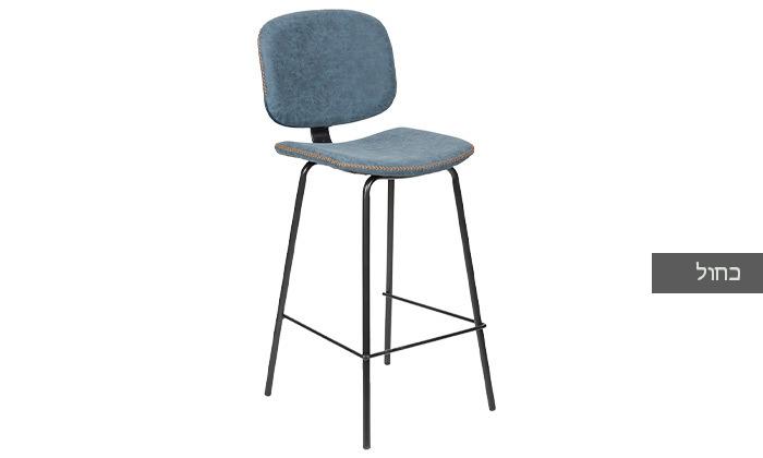 5 כיסא בר מרופד SUN DESIGN HOME דגם 5397B