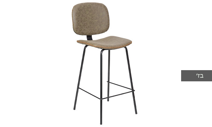 6 כיסא בר מרופד SUN DESIGN HOME דגם 5397B
