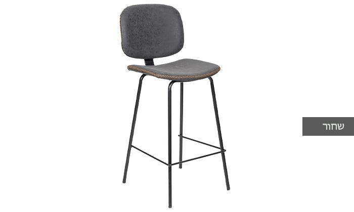 3 כיסא בר מרופד SUN DESIGN HOME דגם 5397B